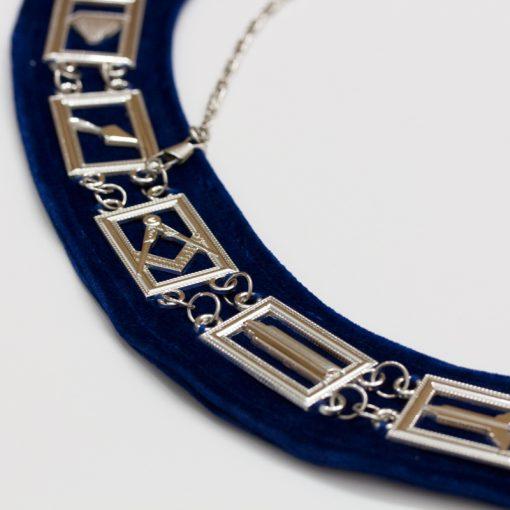 Masonic Chain Collar Detail
